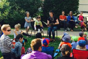 Lectures au parc – 2015