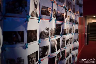 Œuvre participative éphémère – 2015