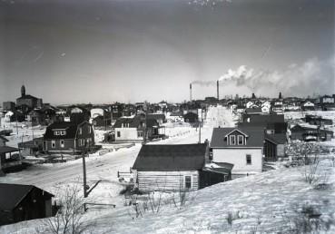 Le village de squatters de Rouyn-Sud